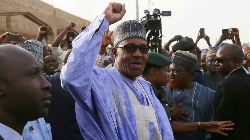 Buhari declared winner of Nigeria election