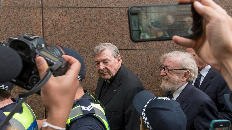 Cardinal Pell to spend first night behind bars