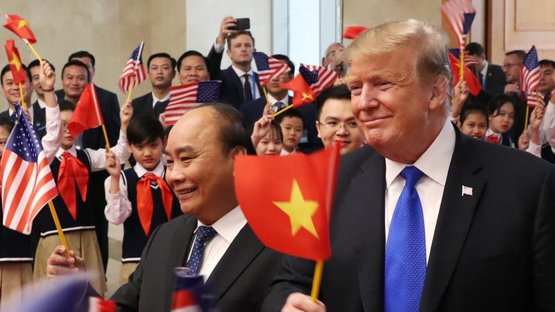 Trump talks up North Korean 'potential' in tweet