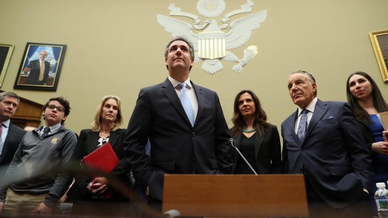 VERBATIM: Cohen calls Trump 'racist' and 'conman'