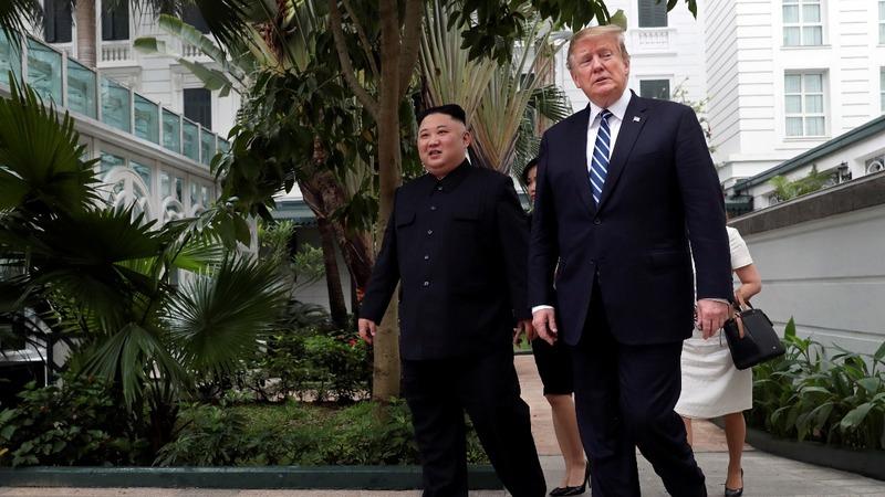 INSIGHT: Kim and Trump kick off summit day two