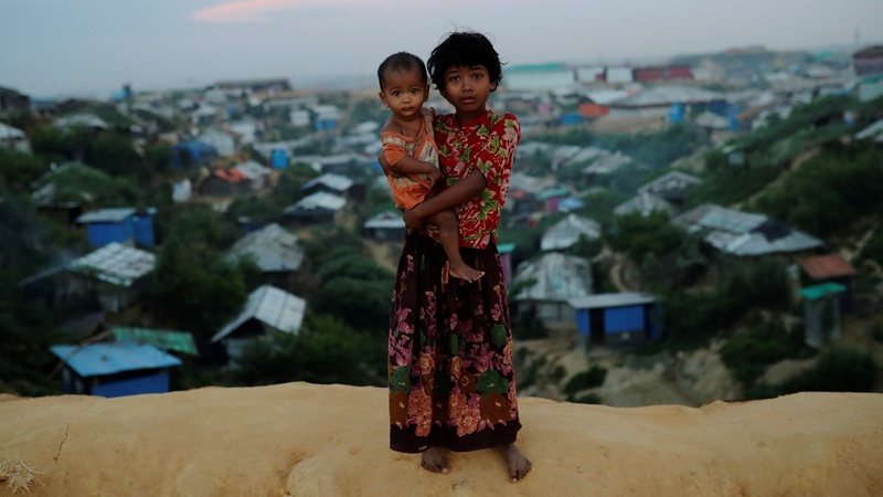 Bangladesh says can't take more Myanmar refugees