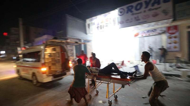 Somali hotel suicide attack kills at least 29