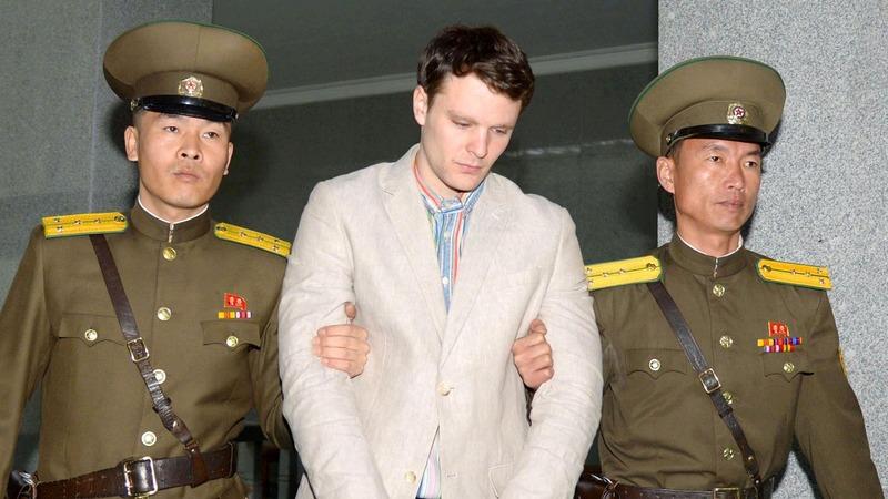 Warmbier parents blame Kim Jong Un for son's death