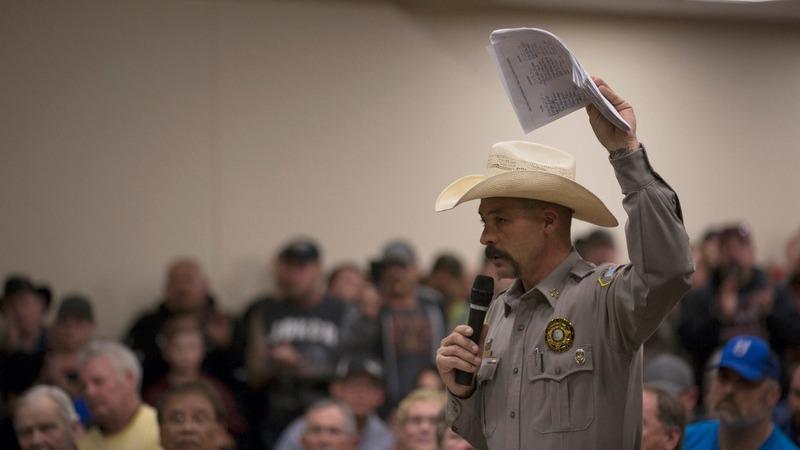 Rogue sheriffs refuse to enforce gun laws