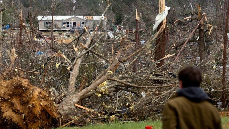 Tornado victim recalls 'total devastation'