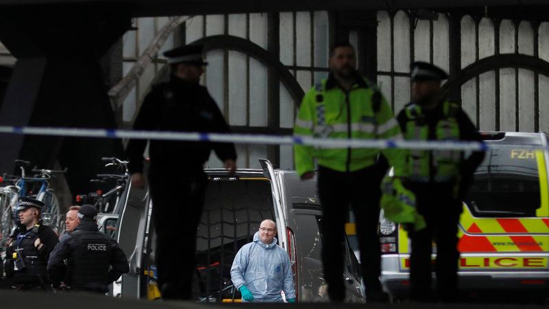 Parcel bombs sent to major London transport hubs