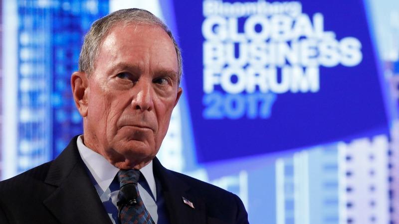Bloomberg to forgo 2020 White House bid