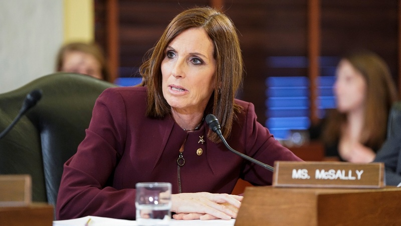 Sen. McSally says she was raped in the military