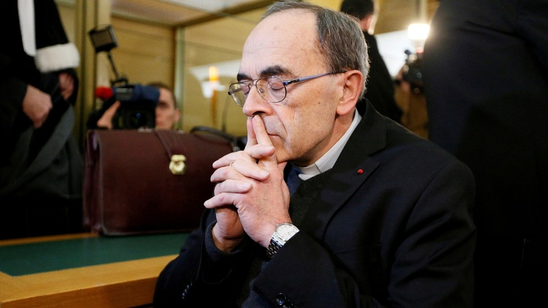 French cardinal found guilty of sex abuse cover-up