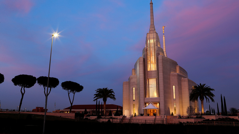 Mormonism's multi-million masterpiece in Rome