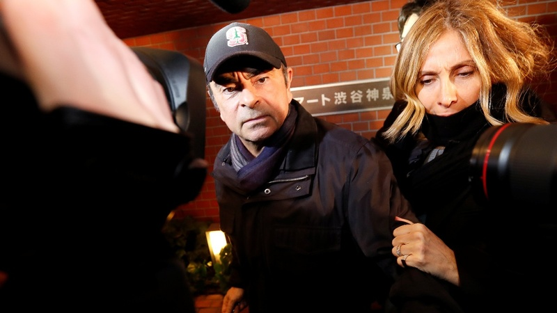 Ghosn bail terms 'not tough enough': prosecutor