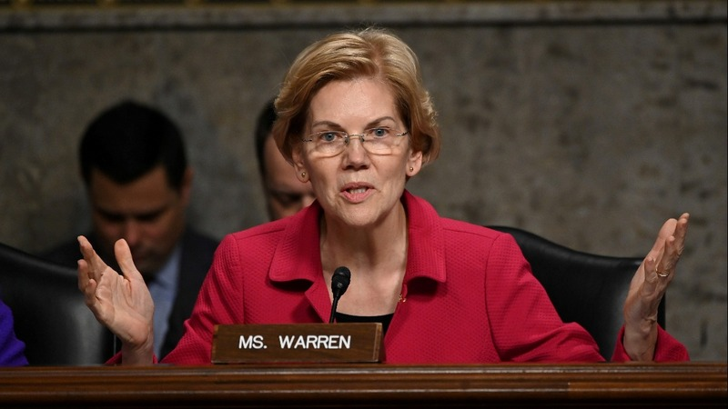 Warren vows to break up big tech if president