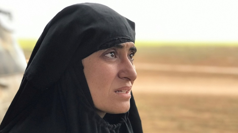 Freed Yazidi woman endured years of IS slavery