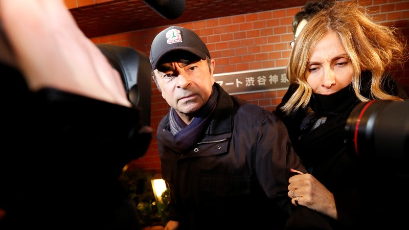 Ghosn blocked from Nissan board meeting