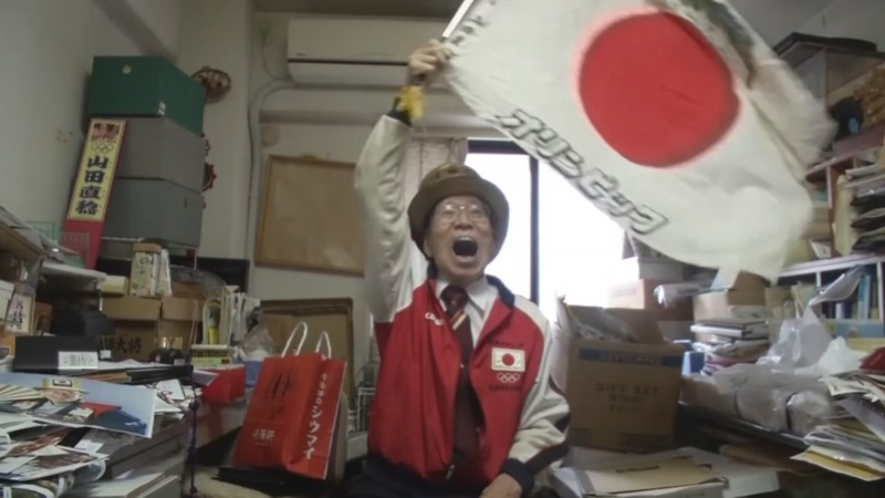 92-year-old Olympics superfan gears up for 2020