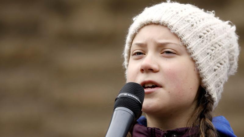 Teenager's climate 'school strike' goes global