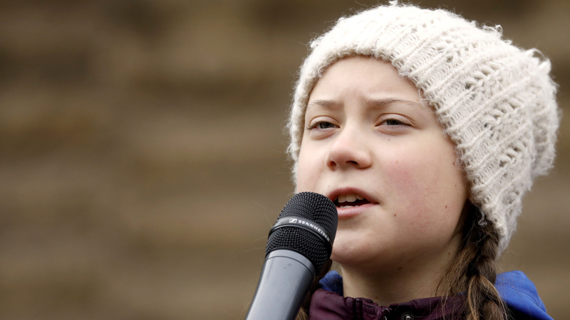 Teenager's climate 'school strike' goes global