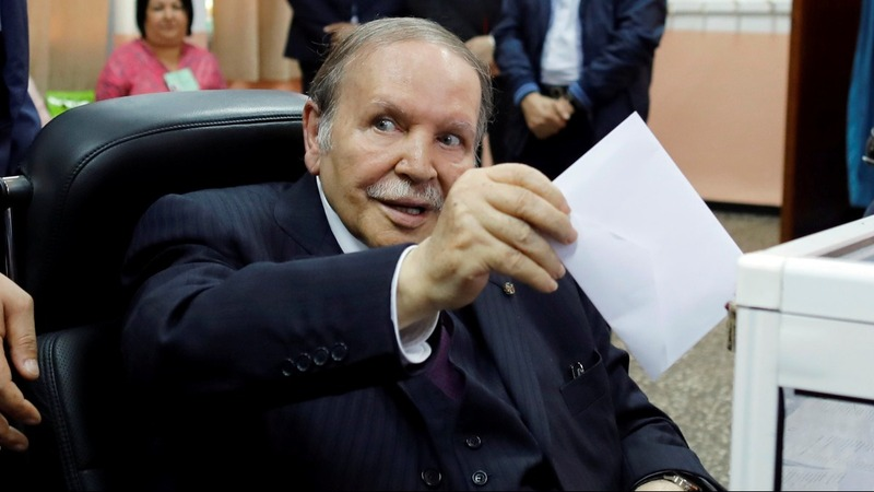Protests force Algeria leader from re-election bid