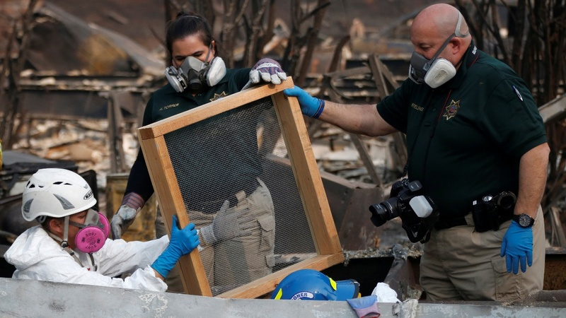 As wildfires devour towns new toxic threats emerge