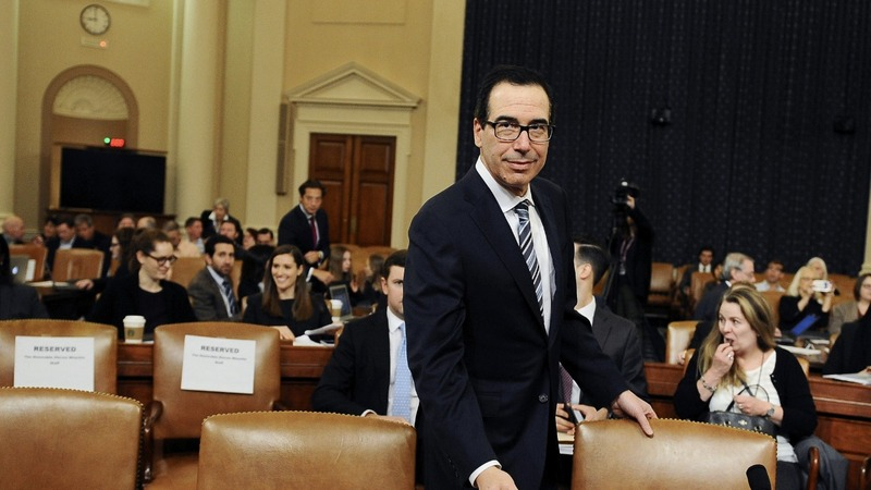 Mnuchin says he'll shield Trump if taxes requested