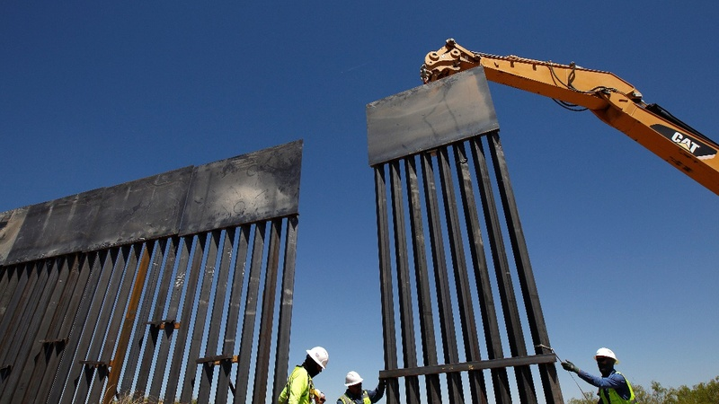 Trump 'wall' in NM has some asking: Why here?