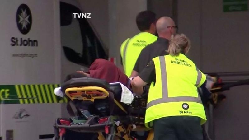 Gunman opens fire at New Zealand mosque