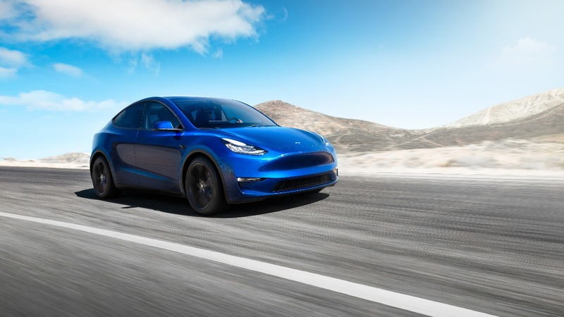 Tesla launches the Model Y electric crossover