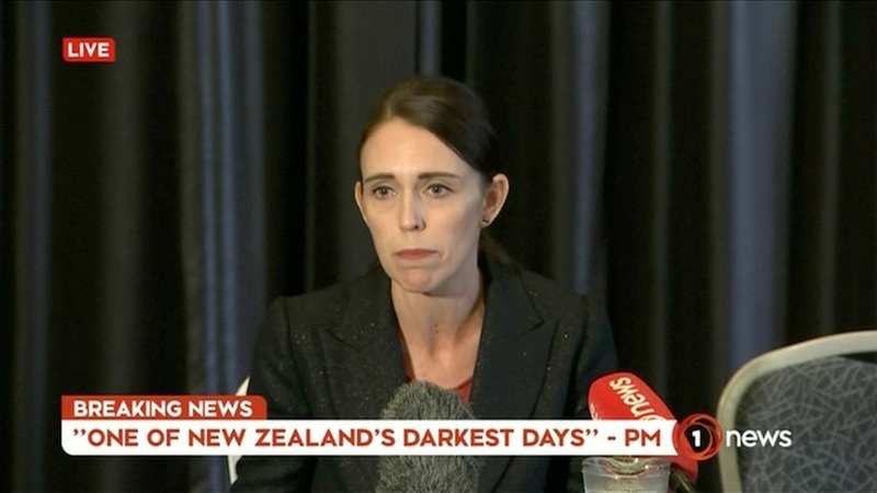 VERBATIM: New Zealand PM 'We condemn terrorism'