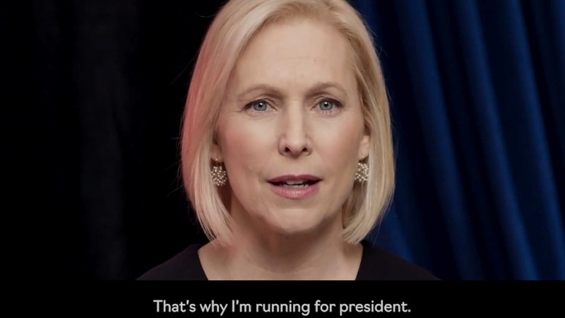 Sen. Gillibrand formally launches 2020 bid