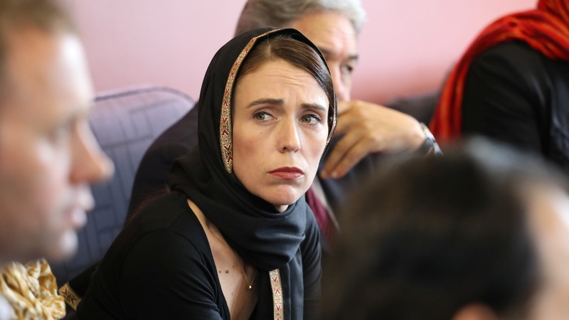 Jacinda Ardern voices New Zealand's grief