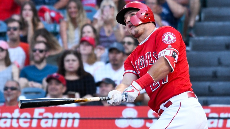Trout finalizing record $430 mln deal: reports