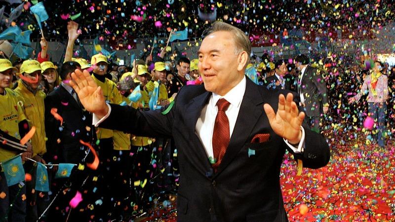Kazakhstan's president abruptly resigns