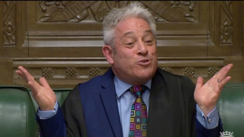 Brexit Britain's bombastic Speaker of the House