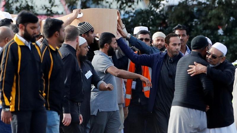 Burials begin for New Zealand mosque shooting victims