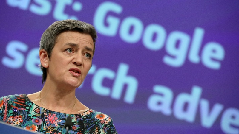 EU fines Google $1.69bln for blocking ad rivals