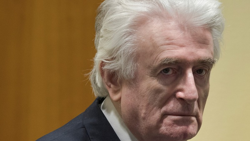 Wartime leader Karadzic given life in prison