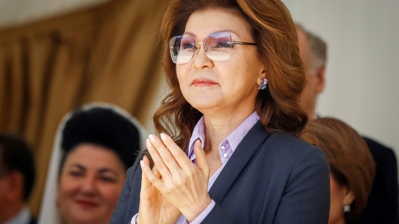As ex-Kazakh leader steps down, daughter steps up
