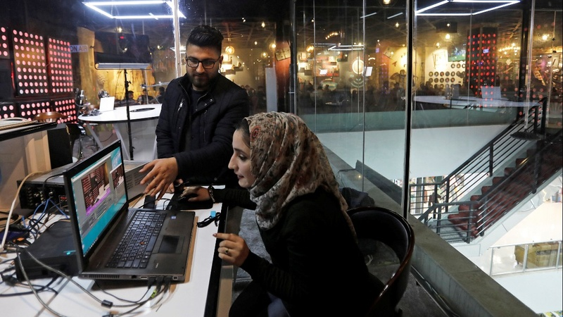 Mosul coffee shop radio shares message of hope