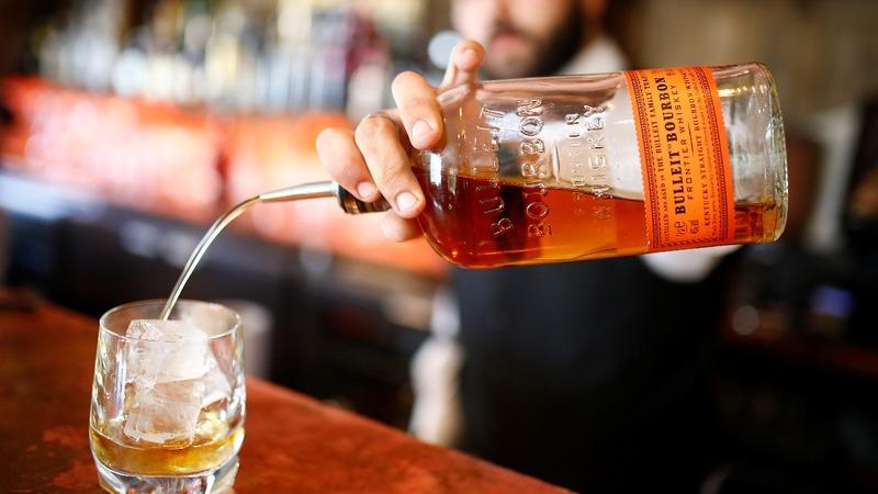 U.S. whiskey exports dry up as tariffs bite
