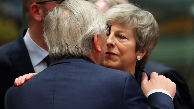 May asks Brussels for more time to Brexit