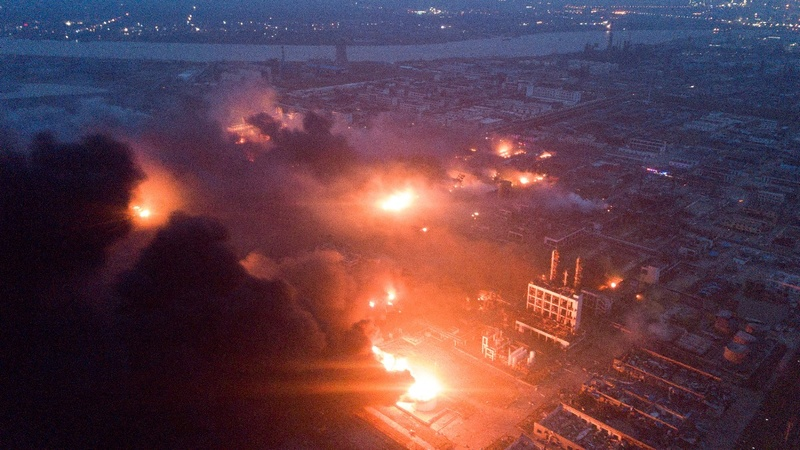 China chemical blast kills 62, injures 640: media