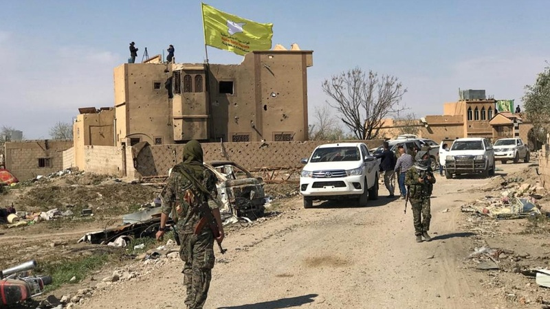 U.S.-backed SDF declares Islamic State defeated