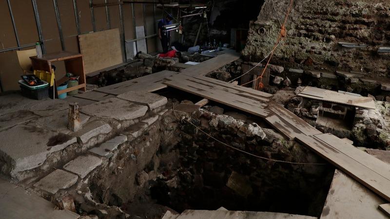 Aztec war sacrifices found in Mexico