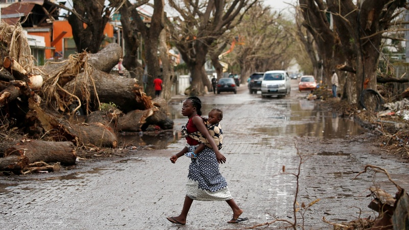 INSIGHT: Mozambique starts post-cyclone clean up
