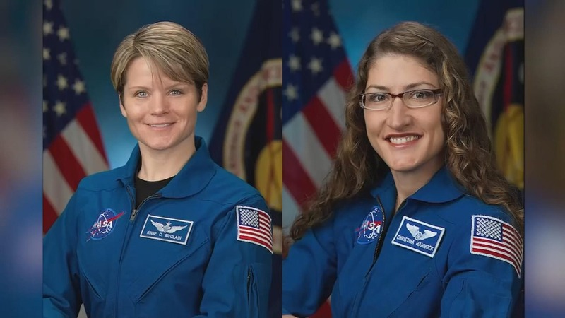NASA nixes female mission after spacesuit blunder