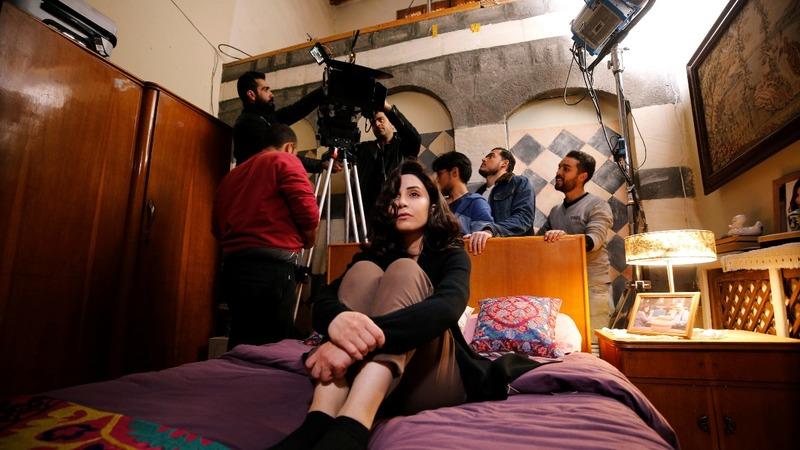 Film cameras roll again in Damascus studios