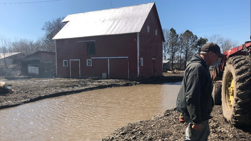 Floods ruin more than 1M acres of U.S. crop land