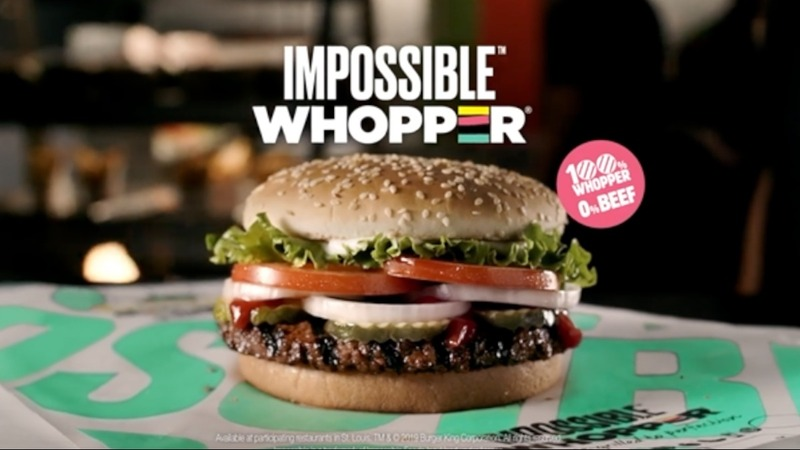 No-meat 'Impossible Whopper' debuts at Burger King