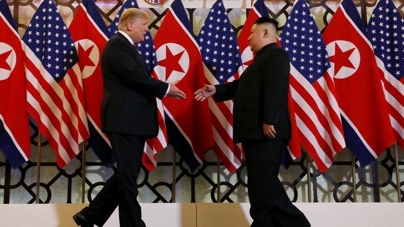 EXCLUSIVE: The document Trump gave Kim in Hanoi